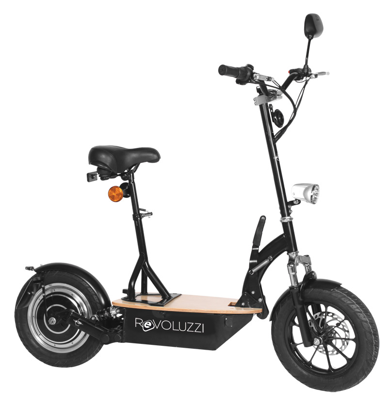 elektroscooter revoluzzi plus 20 km h mit. Black Bedroom Furniture Sets. Home Design Ideas